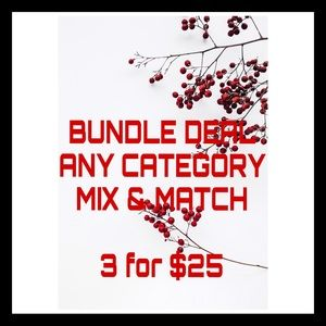 Other - 😃😃😃3 FOR $25 - BUNDLE DEAL 😃😃😃